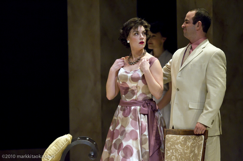 Ariela Morganstern and Nicolas Aliaga in Theatreworks' Light in the PIazza