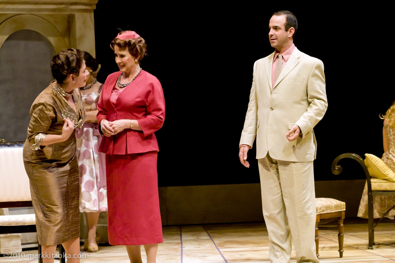 Caroline Altman, Rebeccca Eichenberger, and Nicolas Aliaga in Theatreworks' Light in the Piazza